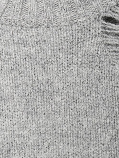 Джемпер из смешанной шерсти - Деталь