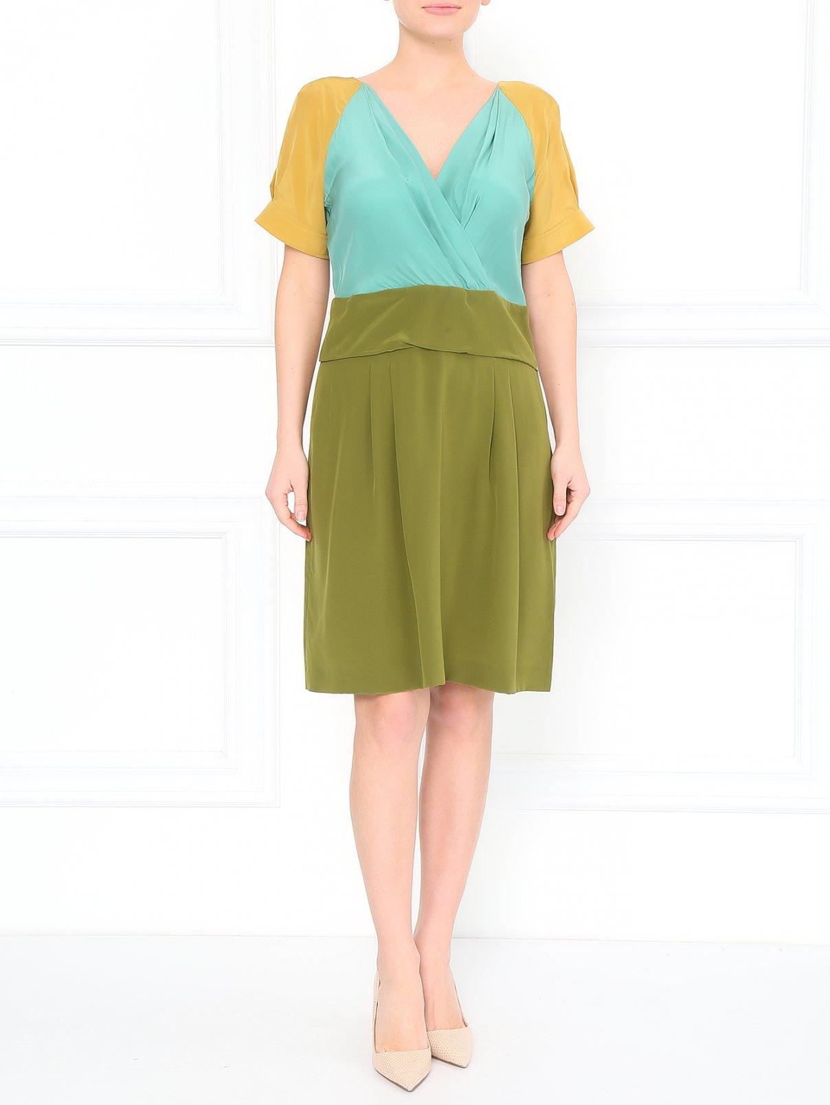 Платье-мини из шелка Philosophy di Alberta Ferretti  –  Модель Общий вид