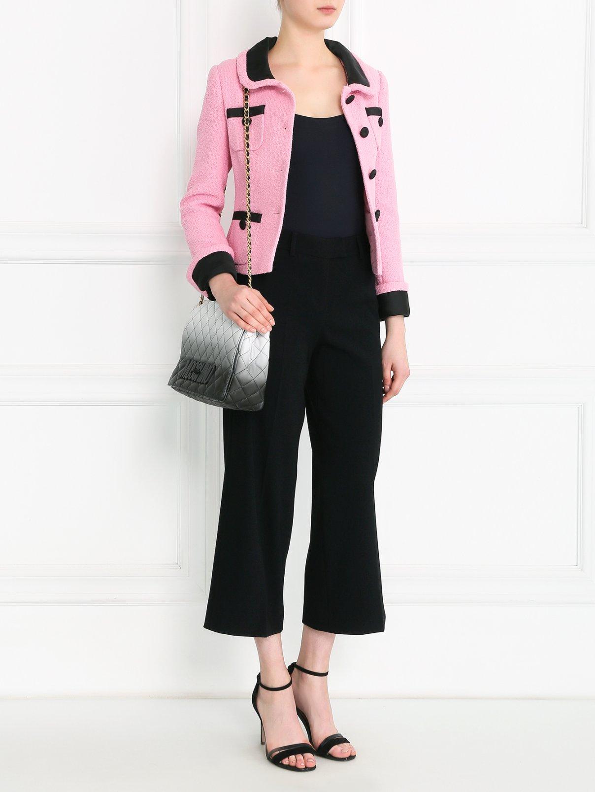 Стеганая сумка из кожи Moschino Couture  –  Модель Общий вид