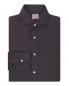 Рубашка из хлопка Borrelli  –  Общий вид